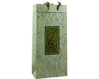 OB2 Verona Natural - Handmade Paper 2 Bottle Olive Oil Bags OB2VERONANATURA