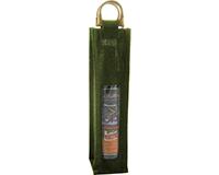 OJ1 Olive - Jute Olive Oil Bottle Bags OJ1OLIVE