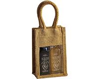OJ2 Sampler Natural - Jute 2 Sample Bottle Olive Oil Bags OJ2SAMPLERNATUR