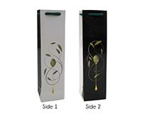 OP1 Drip - Printed Paper Olive Oil Bottle Bags OP1DRIP