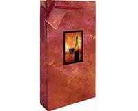 Printed Paper Double Wine Bag - VanGogh-P2VANGOGH
