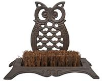 Owl Boot Brush Antique Brown-BFBTT192