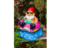 Donut Worry Be Happy Garden Gnome-BMGADO