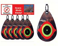 Scare Eye Diverters set of 5-BBGMMSED5