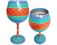 IB Wine Glass Cheers to 60 Years (IBWCHEERS60)