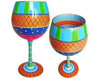 IB Wine Glass Congratulations IBWCONGRAT
