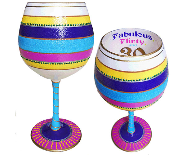IB Wine Glass Flirty 30 (IBWFLIRTY30)