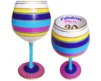 IB Wine Glass Flirty 30-IBWFLIRTY30