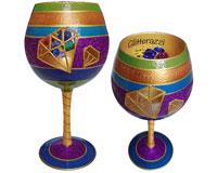 IB Wine Glass Glitterazzi-IBWGLITTERAZZI
