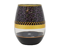 Stemless Wine Glass Deco Jaguar-SLDECOJAGUAR