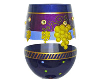 Stemless Wine Glass Don't Whine! Drink Wine Bottom's Up-SLDONTWHINEDRIN