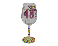 Wine Glass 18 It's My Birthday-WG18ITSMYBIRTHD