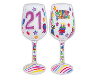 Wine Glass, 21 It's My Birthday-WG21ITSMYBIRTHD