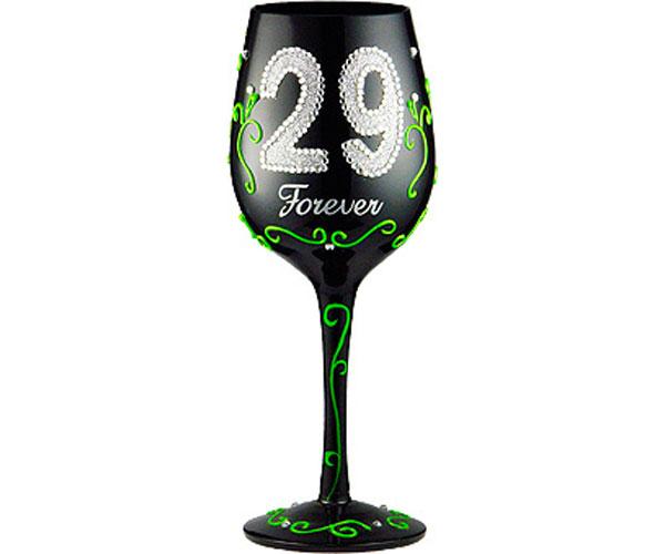 Wine Glass 29 Forever (WG29FOREVER)