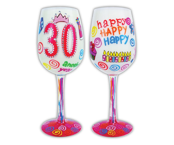 Wine Glass, 30 Another Year Older (WG30ANOTHERYEAR)