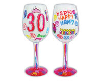 Wine Glass, 30 Another Year Older-WG30ANOTHERYEAR