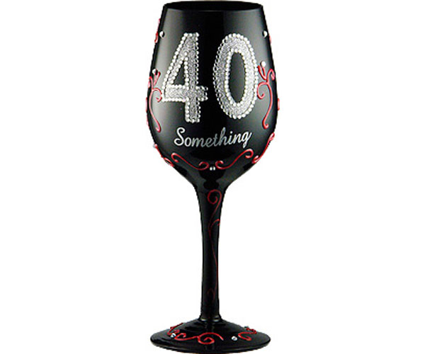 Wine Glass 40 Something WG40SOMETHING'