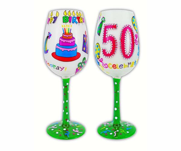 Wine Glass, 50 Better Than Ever (WG50BETTERTHANE)