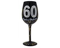 60 Aged to Perfection Wine Glass WG60AGEDTOPERFE