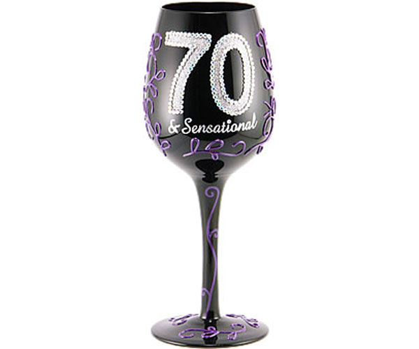 Wine Glass 70 & Sensational (WG70SENSATIONAL)