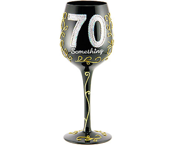 Wine Glass 70 Something (WG70SOMETHING)