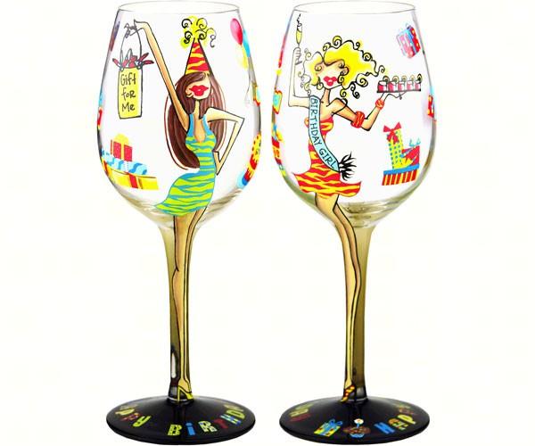 Wine Glass, Birthday Girl (WGBIRTHDAYGIRL)