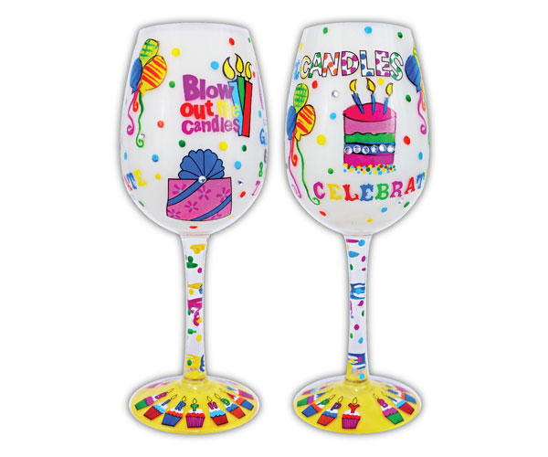 Wine Glass Blow Out the Candles (WGBLOWOUTTHECAN)
