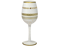 Wine Glass, Deco Bride WGDECOBRIDE