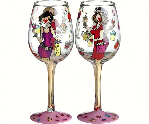 Wine Glass, Fabulous At Any Age (WGFABATANYAGE)