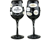 Wine Glass Groom Words WGGROOMWORDS