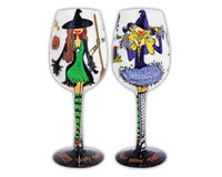 Wine Glass Hallowine-WGHALLOWINE
