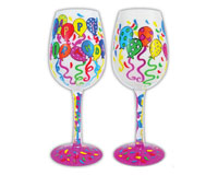 Wine Glass, Happy Birthday to You WGHAPPYBDAYTOYO