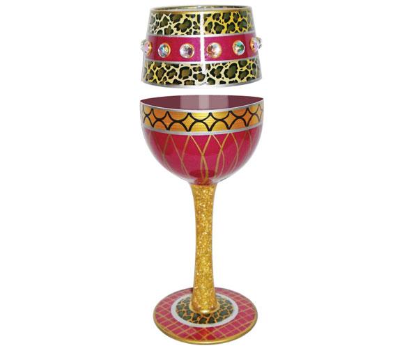 Wine Glass Liberated Bottom