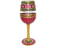 Wine Glass Liberated Bottom's Up WGLIBERATED