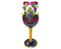 Wine Glass Live, Laugh, Love, Wine Bottom's Up WGLIVELAUGHWINE