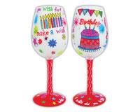 Wine Glass Make a Wish WGMAKEWISH