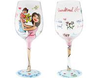 Wine Glass Motherly Love Boy WGMOTHERLYBOY