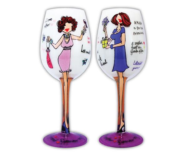 Wine Glass My Mother, My Friend (WGMYMOTHER)