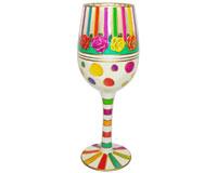 Wine Glass Stripes Bottom