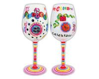 Wine Glass, Time to Celebrate WGTIMETOCELEBRA