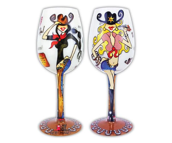Wine Glass Wild Wild West (WGWILDWEST)