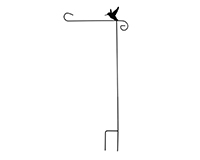 Hummingbird Garden Flag Stand-BLA00030