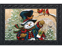 Winter Friends Doormat-BLD00089