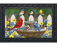 Bird Bath Gathering Doormat-BLD00591