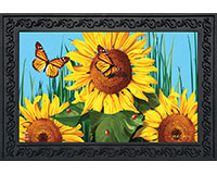 Sunflower Field Doormat-BLD00598