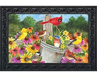 Spring Gathering Doormat-BLD00602