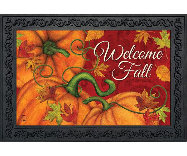 Pumpkin Patch Doormat