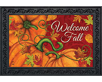 Pumpkin Patch Doormat-BLD00678