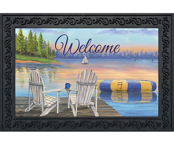 Waterfront Retreat Doormat
