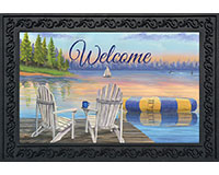 Waterfront Retreat Doormat-BLD00787